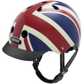 Nutcase Street casco per bici rosso/blu